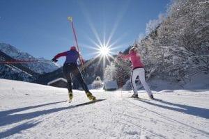 Langlauf, Schneeschuh gehen und Skitouren am Hinterstein in Bad Hindelang der Kneipp Premium Class Kurort für Medical Wellness