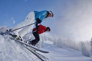 Skifahren und Wintersport am Oberjoch in Bad Hindelang der Kneipp Premium Class Kurort für Medical Wellness