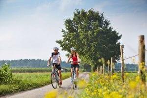 Radfahren, Touren, E-Bike fahren in Bad Wörishofen Kneipp & Thermal im Allgäu - Premium Class