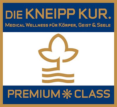 logo-kneipp-premium - Erleben Sie die Orte der Kneipp Premium Class. Kneipp auf höchstem Niveau! Das Prädikat Premium Class garantiert modernes Angebot & herausragenden Service.